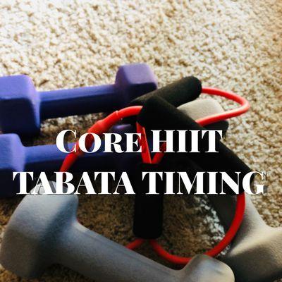 HIIT abdomen - Tabata