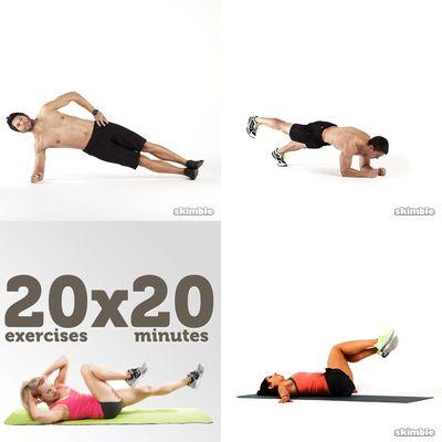 Dan workout
