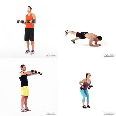 Dumbell wkout