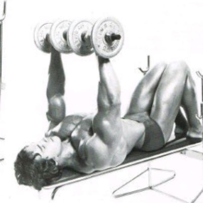 Flat Dumbell Bench Press