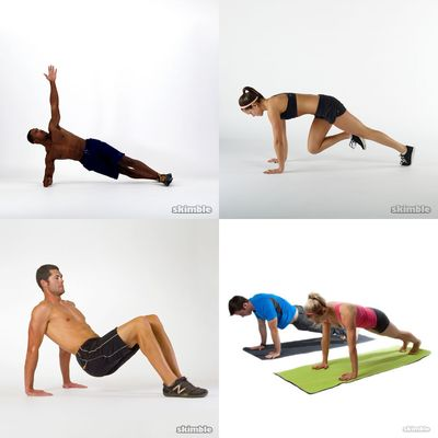 Arms, Upper & Core HIIT Circuit