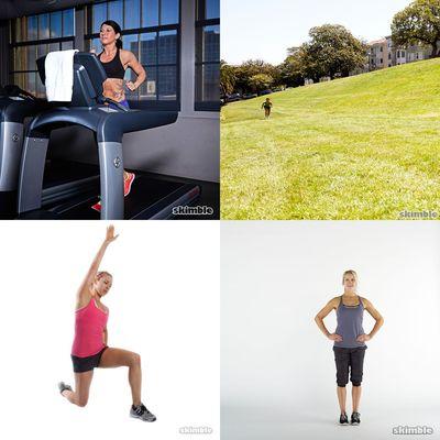 Run Treadmill HIIT Circuit 1