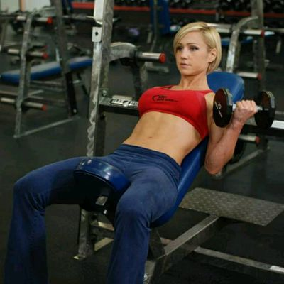 Alternate Incline Dumbbell Curl