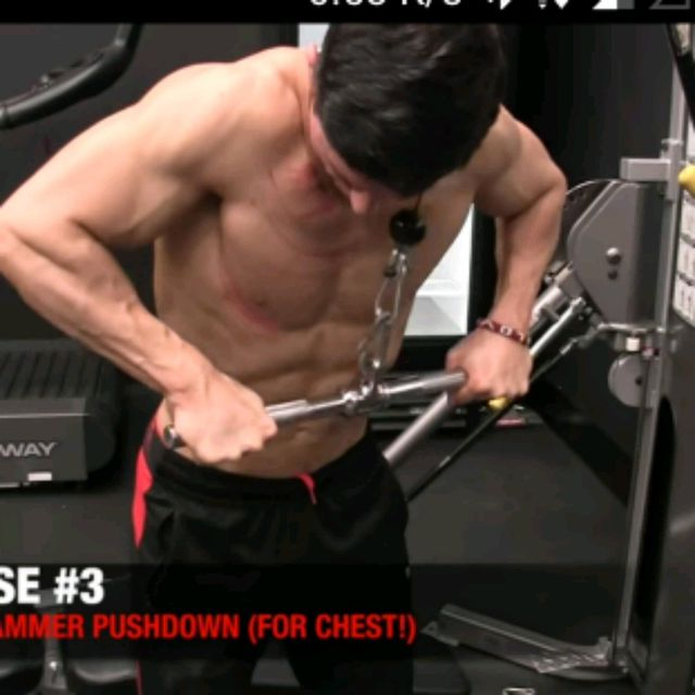Jackhammer Push Down Exercise How To Workout Trainer