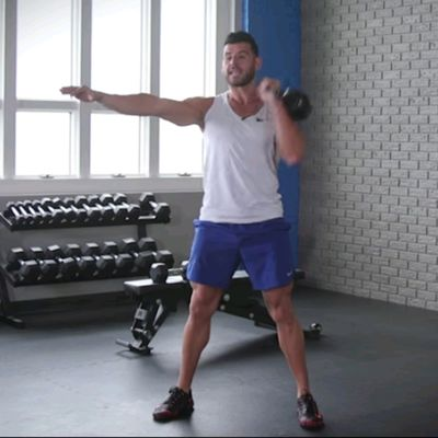 Right Arm Kettlebell Clean & Press