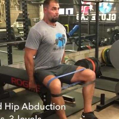 Banded Hip Abduction Level 2 [Sit Upright]