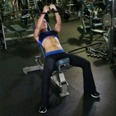 Bow Flex Incline Press