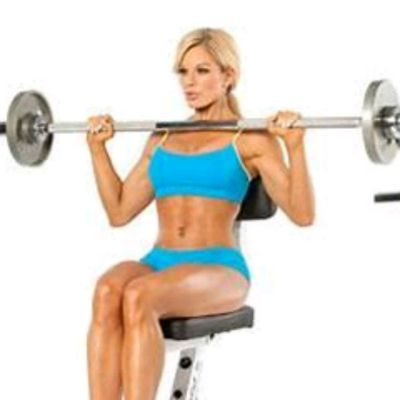Barbell Shoulder Press.