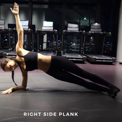 Right Side Plank Hold