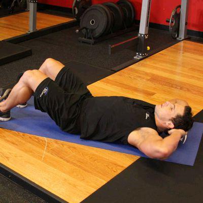 Sit Ups (weight)