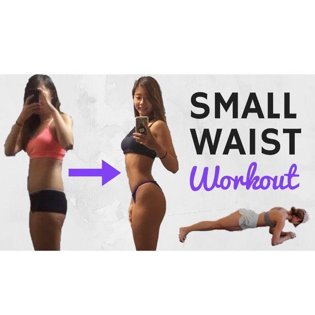 10 min SMALLER WAIST Workout for Flat Belly | Beginner