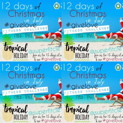 12 Days of Cristmas in July