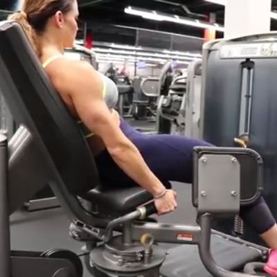 Hip Abductor [Sit All The Way Back]