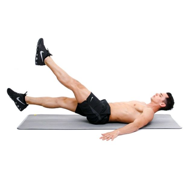 Abs - Bodyweight Scissor Kick - Exercise How-to - Workout Trainer ...