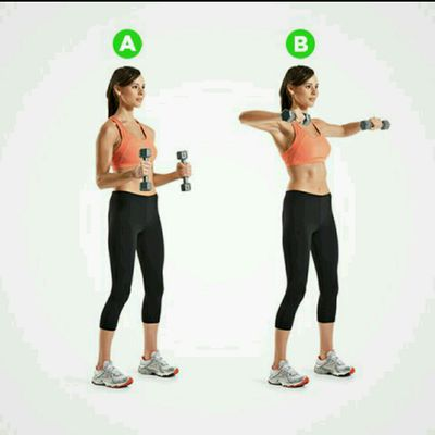 Bent Arm Lateral Raise
