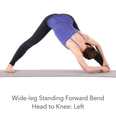 Wide Leg Head To Knee Left