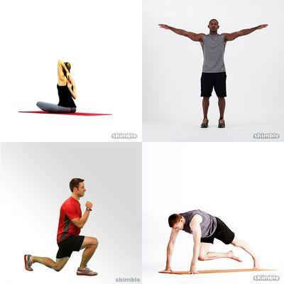 Warm up / Stretching - @ll