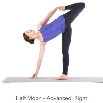 Right Half Moon - Advanced