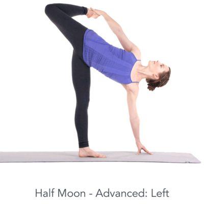 Left Half Moon - Advanced