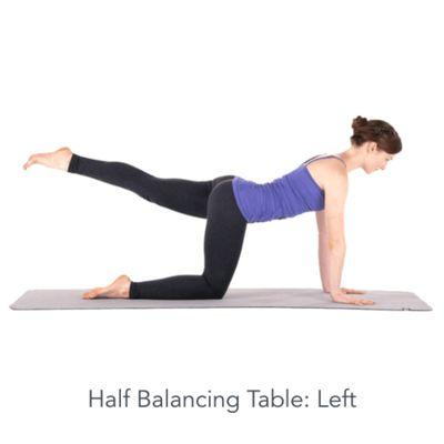 Left Balancing Table