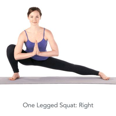 Right One Legged Squat