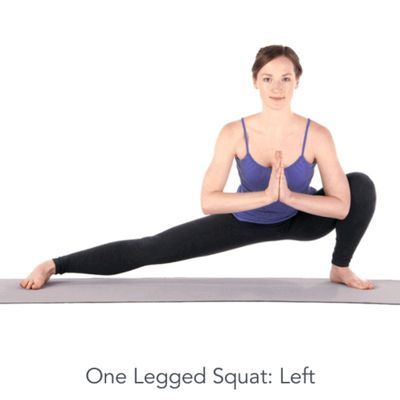 Left One Legged Squat