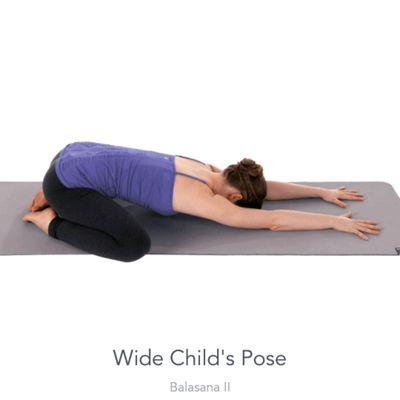 Wild Child's Pose