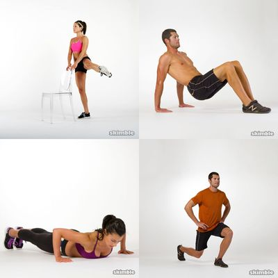 Boot camp style workouts