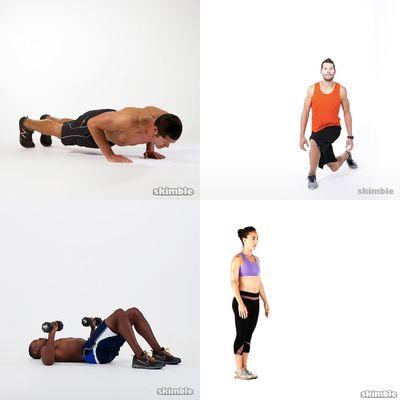 My indoor exercises