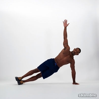 Full Left Side Plank
