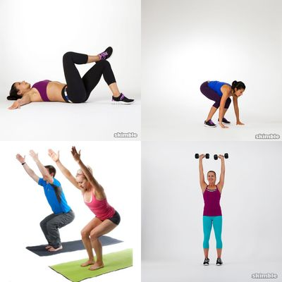 Rachel's Workout