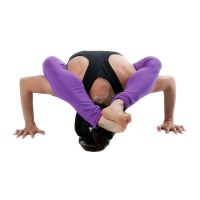 Perform pushups. Lower your body until your elbows form a 90 degree angle.