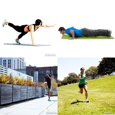 Mixed workouts