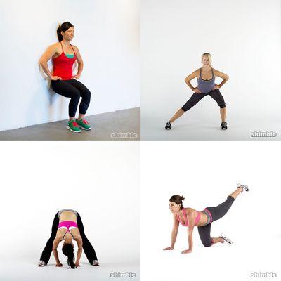 Workout legs/butt