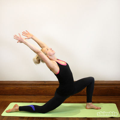 Crescent Moon Pose