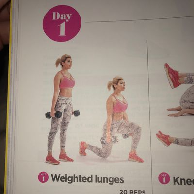 Weighted Lunges