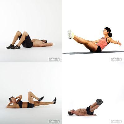 elke dag workout