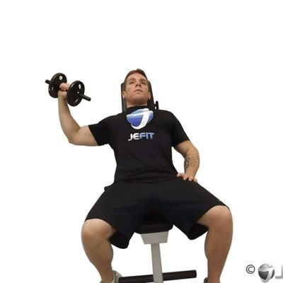 Incline One Arm Dumbbell Chest Press