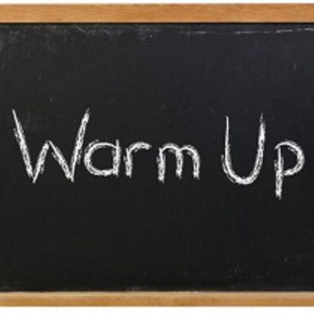1 Min Warm Up