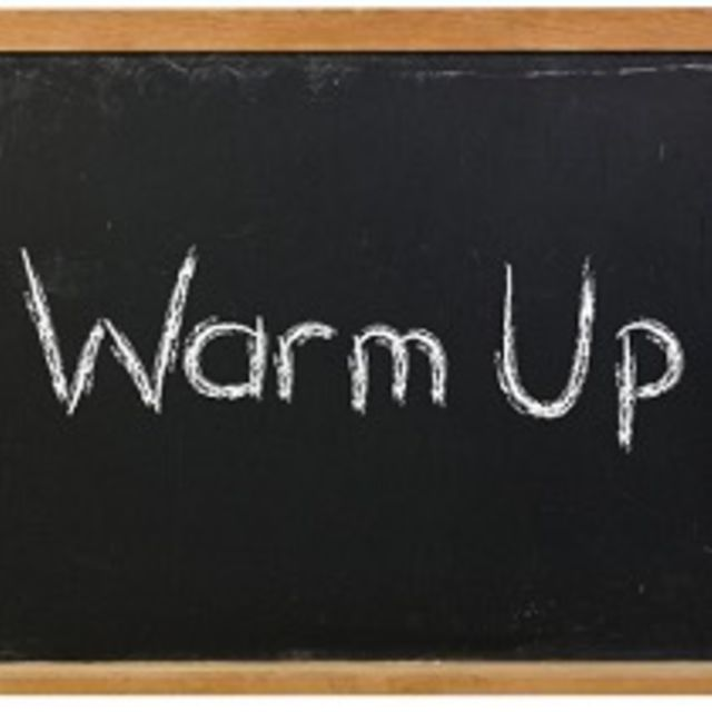 Warm Up Drill