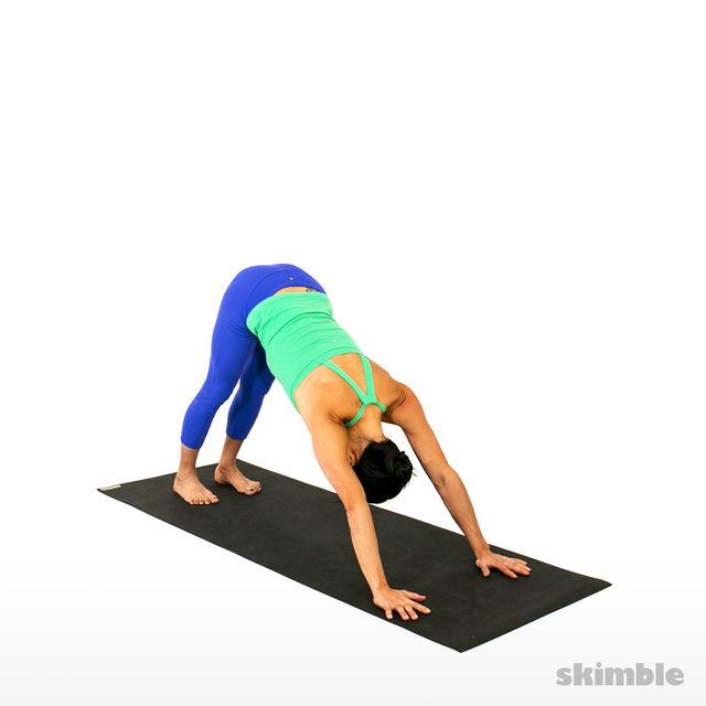 How to do: Right Visvamitrasana - Step 1