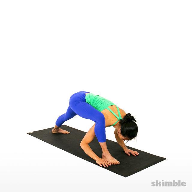 How to do: Right Visvamitrasana - Step 2