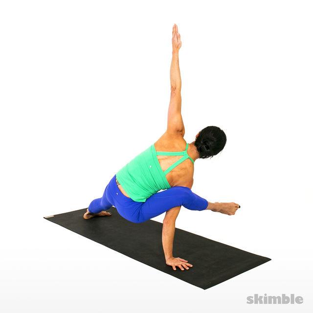 How to do: Right Visvamitrasana - Step 3