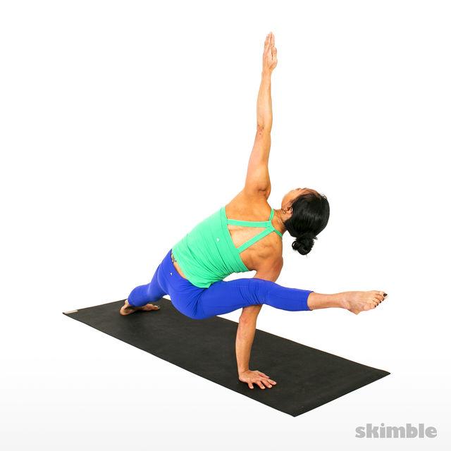 How to do: Right Visvamitrasana - Step 4