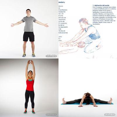 Movilidad Articular mas Calentamiento, Elongación pos ejercicios