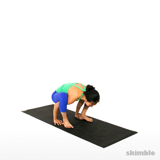 How to do: Firefly Pose - Step 5