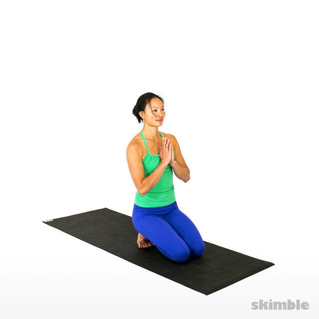 How to do: Thunderbolt Pose - Step 2