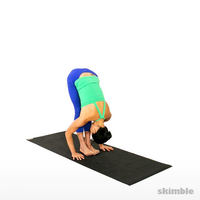 How to do: Thunderbolt Pose - Step 3