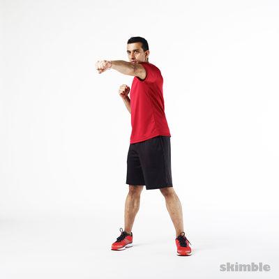 踢臀有氧运动