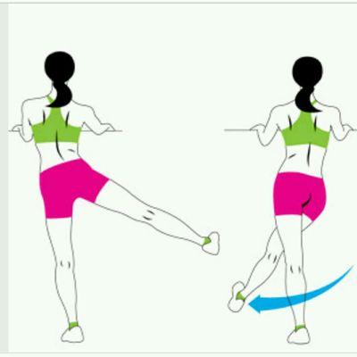 Cross Body Leg Swings Left